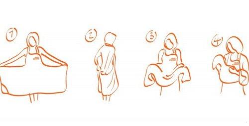 Medidas Toalla Baño Bebe:Sorteo de dos fantásticas toallas delantal