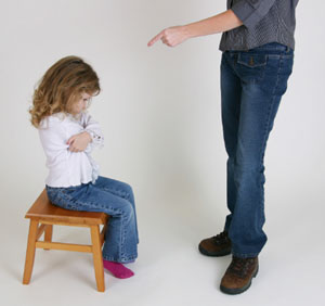 castigar a un hijo